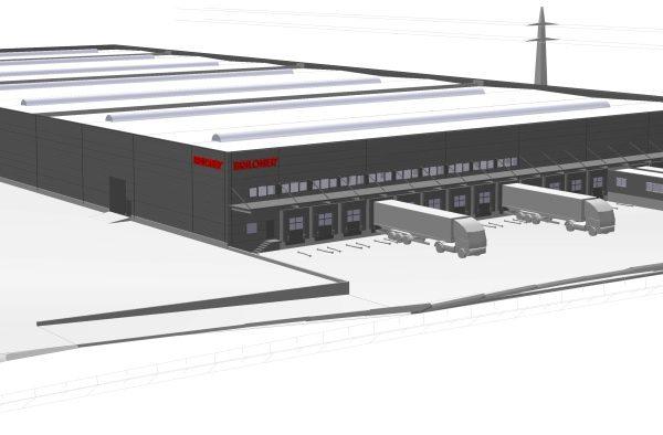 Briloner Leuchten – Neubau Lagerhalle